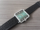 CEAS DE MANA BARBATESC AVIA 17 JEWELS INCABLOC SWISS MADE GREEN DIAL MECANIC