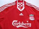 Tricou fotbal - FC LIVERPOOL (Anglia), M, Rosu, De club