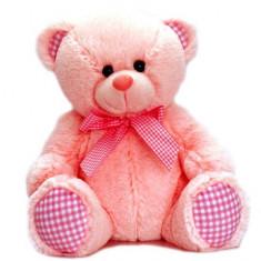 Ursulet de plus roz 35 cm