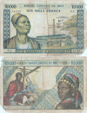 1970, 10.000 francs (P-15f) - Mali!