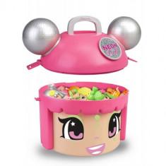 Set PinyPon Surprise Neon Party Roz cu 5 Figurine