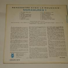 Tresors folkloriques - Rencontre avec la Roumanie - Maramures I - vinil
