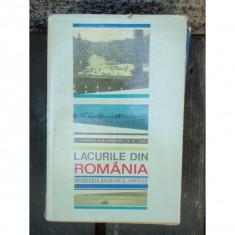 LACURILE DIN ROMANIA - T. MORARIU