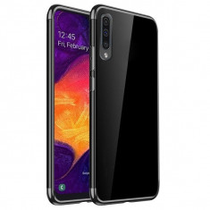 Husa SAMSUNG Galaxy A50 - Plating Soft (Negru)