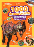 1000 de autocolante. Dinozauri/National Geographic Kids
