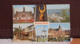 PLANDA - ROTTERDAM - 6 VEDERI DIN ORAS SI PORT - NECIRCULATA - PATATA PE VERSO, Olanda, Fotografie