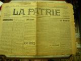 """Ziarul """" La Patrie """" 1908"""