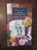 ROMANTE PENTRU MAI TARZIU-ION MINULESCU  , JURNALUL NATIONAL