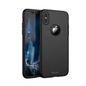 Husa de protectie pentru Apple iPhone XS MAX, iPaky Pro Negru Original Case,...