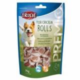 Trixie PREMIO Roluri de pui, carne de pui și pollock 75 g