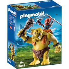 Playmobil Knights - Trol cu luptator pitic
