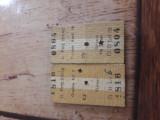 Bilete tren vechi an 1978.