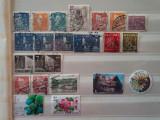 Europa de Nord - 22 timbre stampilate deparaiate