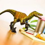 Figurină Velociraptor mărime XL, Safari