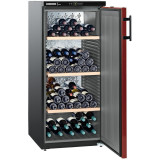 Vitrina pentru vin WKr 3211, 295 L, Clasa E, Negru, Liebherr