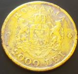 Moneda istorica 2000 LEI - ROMANIA, anul 1946  *cod 2237