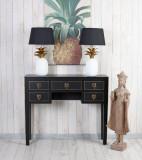 Consola exotica din lemn masiv negru MAY014