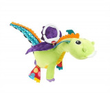Jucarie Lamaze Flip Flap Dragon Rattle