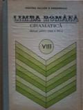 Ion Popescu - Limba romana Gramatica. Manual  clasa a VIII a (sintaxa), Clasa 8, Manuale
