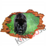 "Sticker ""Wall Crack"" Puma 5 - 120 x 80 cm"
