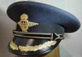 Cascheta aviator, sapca de pilot, chipiu ofiter superior aviatie WW2