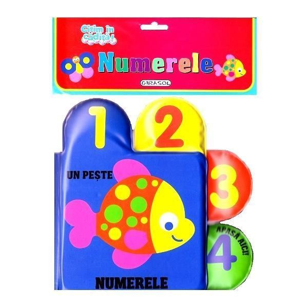 Citim in cadita: Numerele PlayLearn Toys