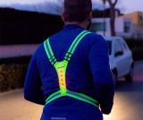 Vesta sport reflectorizanta Running - InnovaGoods, Verde
