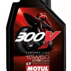 Motul ulei motor scuter moto 300V 4T Factory Line 15W50 1L
