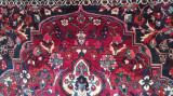 covor persan Bakhtyiar autentic, lana, manual, vintage