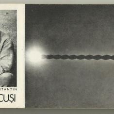Carnet 10 carti postale operele lui Constantin Brancusi - anii 1980