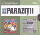 CD Hip Hop: Parazitii - Confort 3 + Irefutabil ( set x2 originale , SIGILATE )
