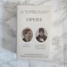 George Topîrceanu. Opere, 2 VOL. EDITURA ACADEMIEI