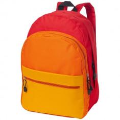 Rucsac de familie, curele ajustabile, Everestus, TS, 600D poliester, rosu, saculet de calatorie si eticheta bagaj incluse foto