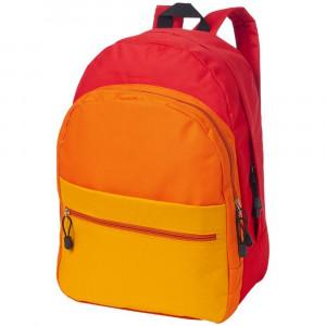 Rucsac de familie, curele ajustabile, Everestus, TS, 600D poliester, rosu, saculet de calatorie si eticheta bagaj incluse