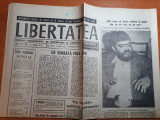Libertatea 5-6 noiembrie 1990-noi vrem sa lasam cultura in pace dar nu ne lasa..