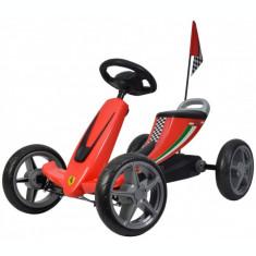 Go Kart cu pedale Ferrari, rosu