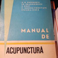 MANUAL DE ACUPUNCTURA - IONESCU TARGOVISTE, GHEORGHIU, DRAGOMIRESCU, RAUT,1974