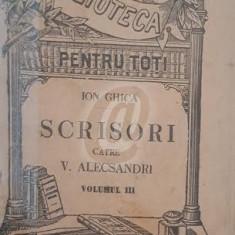 Scrisori catre V. Alecsandri, vol. II