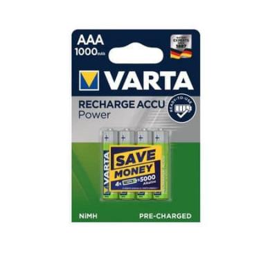 Acumulatori Varta R3 AAA 1.2V 1000 mAh 4 Bucati / Set foto