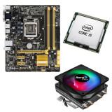 KIT Placa de baza Asus B85M-G, 2x USB 3.0, 4x SATA III, Intel Core i5 4570s...