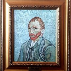 Tablou vechi pictura ulei pe lemn reproducere Van Gogh