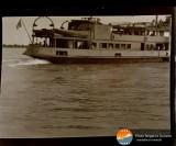 Negativ nava pe Dunare 1930 1940 Romania interbelica