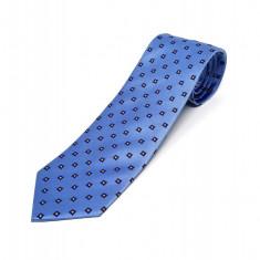 Cravata Matase Bleu Mozaic CR008-105
