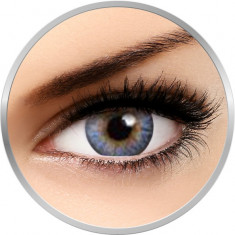 Flash Fairy Alice Blue - lentile de contact colorate albastre 30 de purtari (2 lentile/cutie)