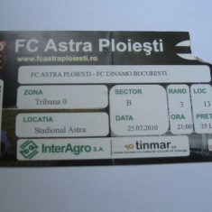 Astra Giurgiu-Dinamo Bucuresti (25 iulie 2010)