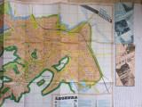 brasov harta planul municipiului 3 pliante monumente cultura strazi transport