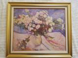 Pictură în ulei pe placaj, Constantin Mitroescu (1925-2004), anul 1970