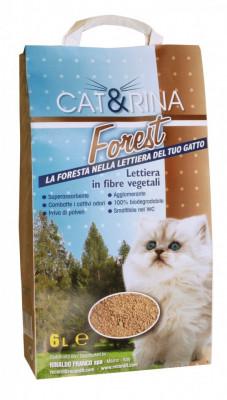 Asternut Igienic - Vegetal - Cat&Rina Forest - 6 L - 1474 foto