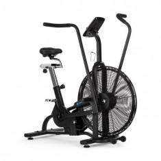 Capital Sports Strike Bike, bicicletă cardio, ventilație, BT, negru