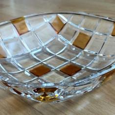 Fructiera / Bol / Centru masa - Cristal  - Germania - Marcaj - model modern